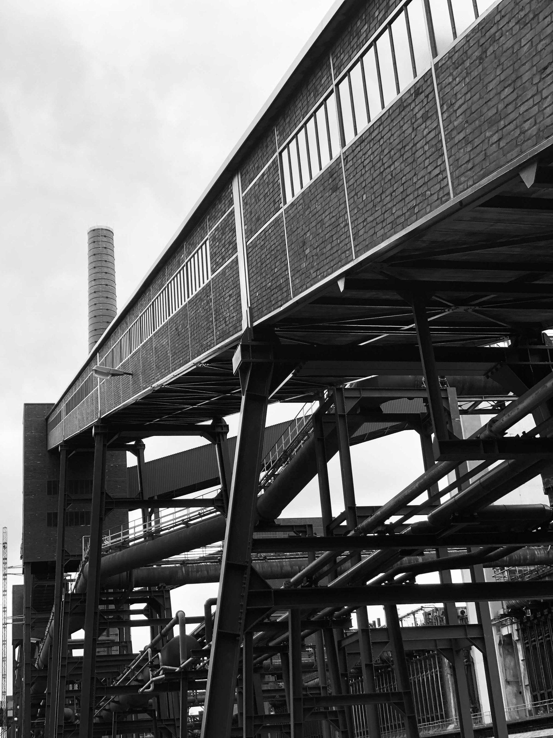 Zeche Zollverein Essen Förderbänder