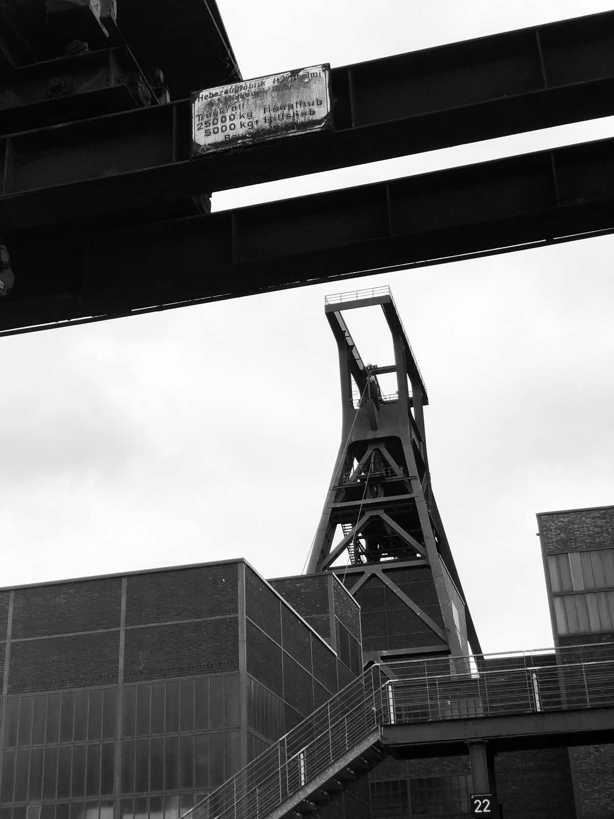 Zeche Zollverein Essen Förderturm