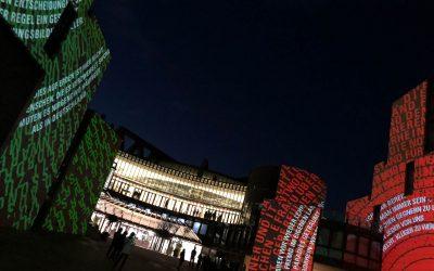 Illumination des Landtags
